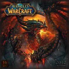 World of Warcraft 2012 Wall Calendar $13.49