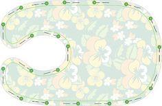 Lätzchen - Schnittmuster und Nähanleitung                                                                                                                                                     Mehr