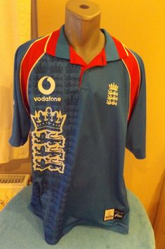 a880806cc Superb Asics retro 1999 ICC Cricket World Cup England Jersey. Soccer Jersey  Store