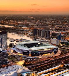 ✔✔✔✔✔✔✔✔✔✔✔✔ Soccer Stadium, Football Stadiums, Stadium Architecture, Melbourne, Sports, Hs Sports, Sport