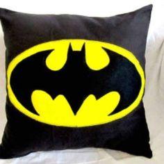 Bat man pillow :-)
