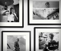 Oh, I like this. big ole' black and white collection of cool people.