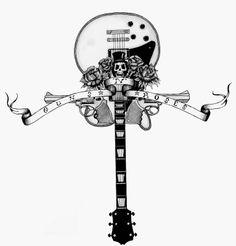 guns n roses tattoo designs - Google Search
