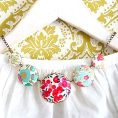 The Liberty Necklace No1 by NestPrettyThingsShop on Etsy, $54.00