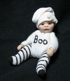 Künstler- & handgemachte Puppen OOAK art polymer clay doll Stolen Treasure Künstlerpuppen