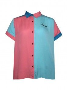 Lazy Oaf Bad Luck Bowling Shirt Lazy Oaf, Bowling Shirts, Polo Shirt, Victoria, Mens Tops, Clothes, Fashion, Outfits, Moda