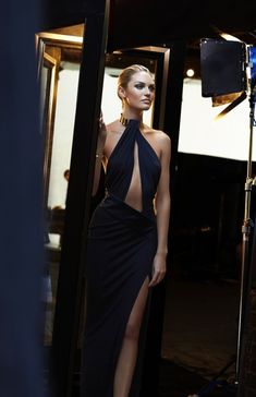 Candice Swanepoel for Max Factor 2015   Behind the scenes.
