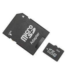 8GB Micro memory card with adaptor