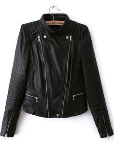 Frances Black Motorcycle Leather Jacket – Love Storey Boutique
