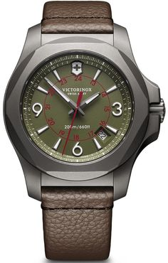 @vxswissarmy Watch I.N.O.X. Titanium #add-content #basel-17 #bezel-fixed #bracelet-strap-leather #brand-victorinox-swiss-army #case-material-titanium #case-width-43mm #classic #date-yes #delivery-timescale-call-us #dial-colour-green #gender-mens #movement-quartz-battery #new-product-yes #official-stockist-for-victorinox-swiss-army-watches #packaging-victorinox-swiss-army-watch-packaging #price-on-application #style-dress #subcat-i-n-o-x #supplier-model-no-241779 #warranty-victorinox...