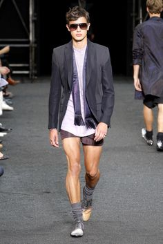 Louis Vuitton- but the real question is: are male legs supposed to look like that?