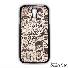 Movie Villains Collection They Will Kill You AR for samsung galaxy S 3/4/5/6/6 Edge/6 Edge Plus