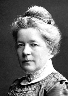 Selma Lagerlöf   primera mujer en ganar el Premio Nóbel de Literatura, en 1909.