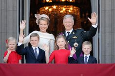 King Philippe and family