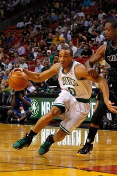 Avery Bradley and the  Boston Celtics knocked off the #Heat in Miami on April 11, 2012 at AmericanAirlines Arena, 115-107. #iamaceltic #iamnotsouthbeach