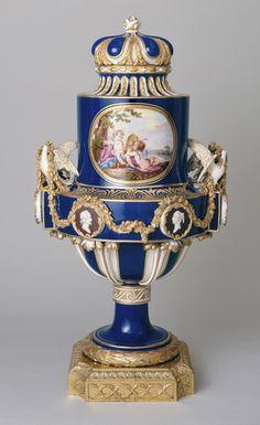 Sèvres porcelain vase.
