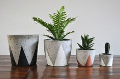 Concrete Planter - via DTLL.