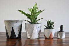 Concrete Planter - via DTLL.