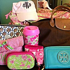 back to school: monogram, tory burch, lilly pulitzer, longchamp