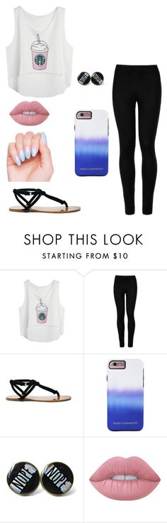 """""""Chill Summer"""" by laurenbrgr ❤ liked on Polyvore featuring Wolford, Sole Society, Rebecca Minkoff and Lime Crime"""
