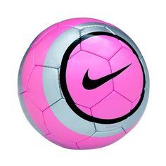 pink soccer ball Image