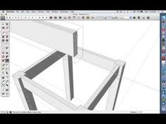 "Six ""Rules for Success"" for SketchUp beginners Woodworking Tools For Beginners, Cool Woodworking Projects, Wood Working For Beginners, Popular Woodworking, Woodworking Tips, Wood Turning Lathe, Wood Turning Projects, Wood Projects, Sketchup Woodworking"