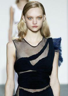 Gemma Ward @ Helmut Lang F/W 2004