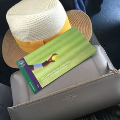 The perfect Smythson bag for a day at Wimbledon.