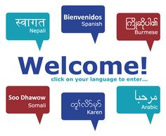 Refugee Portal Welcomes Refugees in Different Languages Resources for working with Refugee Families
