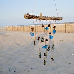 Windchimes from beach stuff