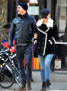 On set romance: The two fell for each other while making the film Mother last summer and have long been rumored to be dating. Aronofsky has a son Henry, 10, with former fiancee Rachel Weisz
