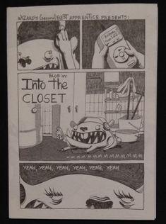 Blob in: into the closet, Ευγενία Βερελη & Στέλλα Στεργιου, αυτοεκδοση
