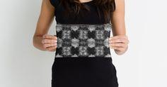 Fuzzy Faux Fur Checkered Pattern