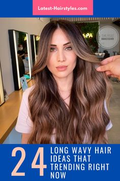 Browse our collection of long wavy hair ideas! We're showing off drop-dead beautiful wavy hairstyles for long hair. (Photo credit Instagram @ilhankaymakofficial