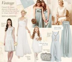 Vintage Style Wedding Collection