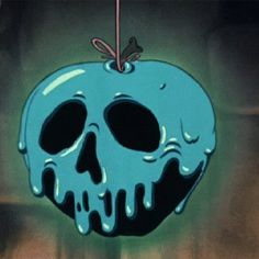 Snow white's apple - put this on Snow White's shirt, or as one of her tats