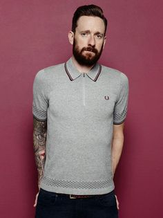 The Bradley Wiggins Collection spring / summer 2015 by Fred Perry If you want to check out the new Bradley Wiggins Collection spring / summer 2015 by Fred Perry, you can do it via the man himself right here. Yes, here are the official shots of the latest (7th I believe) collection designed between the master cyclist and Fred Perry. Once again it's a mix of 1960s inspiration and cycle-friendly detailing. The new range includes a Champion Tipped Fred Perry Shirt in Port, Privet and Mu...