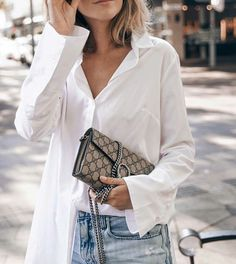 White Shirt & Gucci // viennawedekind.com