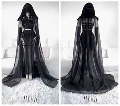Askasu Fading Nebula Gown