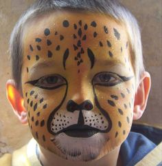 cheetah facepaint - Bing Images