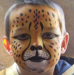 cheetah facepaint - Bing Images