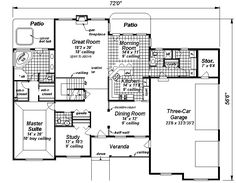 House Plan chp-14566 at COOLhouseplans.com