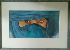 Bedoeïenen, aquarel Yvonne Huiskamp