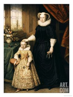 Maria Stuart, Queen of Scots - and her son James I - Mary was beheaded at the order of Queen Elizabeth I. Mary's son James as closest heir goes on to succeed Queen Elizabeth I. Mary Queen Of Scots, Queen Mary, King Queen, Queen Elizabeth, Tudor History, British History, Royals England, Isabel I, Elisabeth I