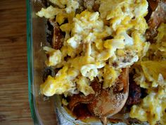 """PaleOMG – Paleo Recipes – Breakfast Lasagna This tasted good, I think it would be better as a hash.  I'll just avoid the """"lasagna"""" construction next time. -CB"""