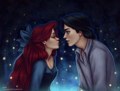 Kiss the Girl (Little Mermaid and Prince)