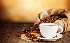 Good Morning Coffee Quotes Wallpaper in HD - HD Wallpapers Black Coffee, Hot Coffee, Coffee Drinks, Coffee Shop, Coffee Cups, Coffee Lovers, Drinking Coffee, Coffee Theme, Espresso Coffee