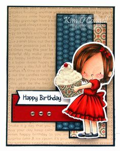 Paper Perfect Designs: DS159 - Happy Birthday, Cupcake!