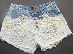 shorts customizados pérolas ile ilgili görsel sonucu