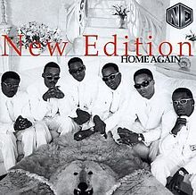 """New Edition """"Home Again"""" (1996) -  Comeback albums don't usually work, but this is practically a perfect R album that combines equal parts funk, '90s midtempo rhythms, and well-crafted slow jams. If you slept on it before, you need to wake up and listen."""